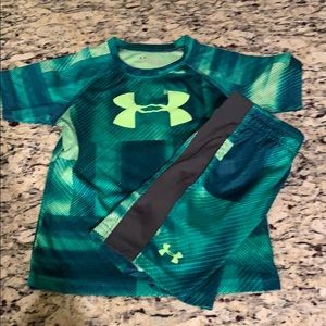 Under armour 3T shorts outfit